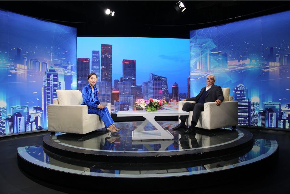 信瑞达石墨董事长赵坤中做客信用中国栏目